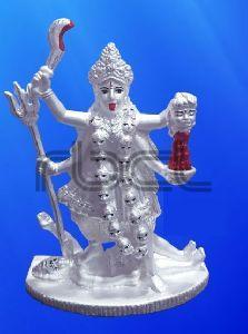 999 Silver Maa Kali Statue