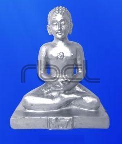 999 Silver Mahavir Ji Statue