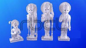 999 Silver Ram Darbar Statue
