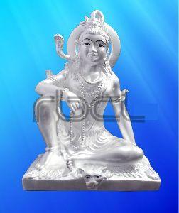 999 Silver Shiva Statue