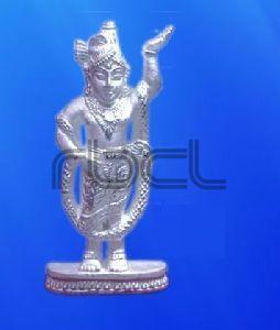 999 Silver Shrinathji Statue