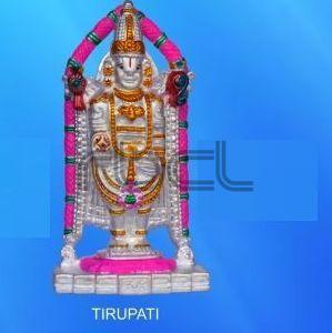 999 Silver Tirupati Statue