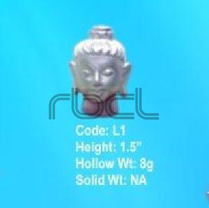 L1 Sterling Silver Buddha Statue