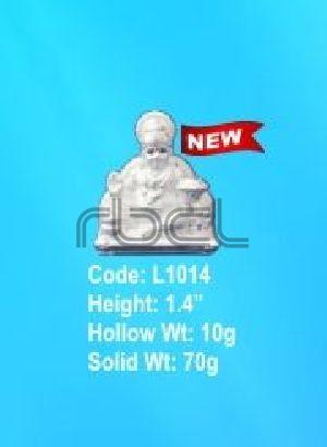 L1014 Sterling Silver Kuber Statue
