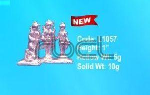 L1057 Sterling Silver Ram Darbar Statue