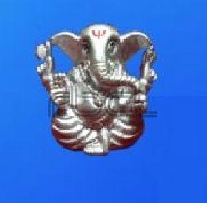 L320 Sterling Silver Ganesh Statue