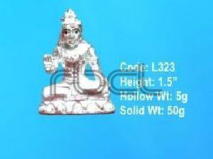 L323 Sterling Silver Parvati Statue