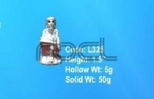 L325 Sterling Silver Sai Baba Statue
