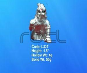 L327 Sterling Silver Laddu Gopal Statue