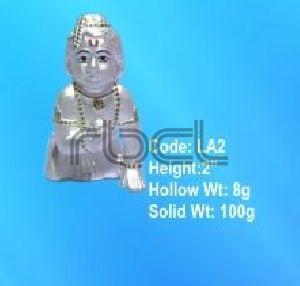 LA2 Sterling Silver Laddu Gopal Statue