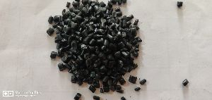 Black Raffia Plastic Granules
