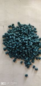 Blue Raffia Plastic Granules
