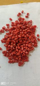 Red Natural PP Plastic Granules