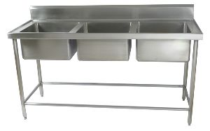 Stainless Steel Sink 02