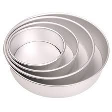 Aluminum Cake Mould Pan Heavy Baking Tin