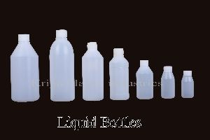 Plastic Liquid Bottles