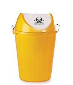 Yellow Colour Waste Bin