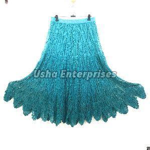 Crochet Ombre Long Skirt