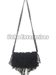 Crochet Knotted Tote Bag