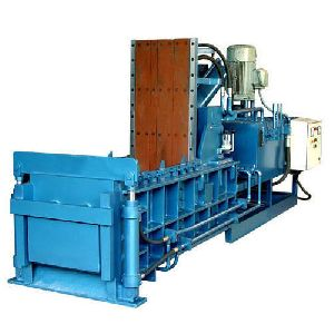 Double Compression Scrap Baling Presses