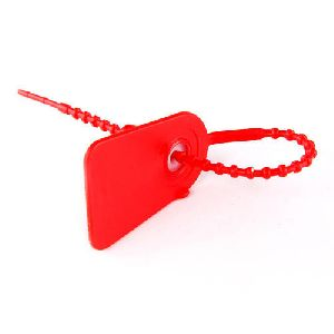Red Polypropylene Strap Locks