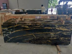 Brazilian Gold Granite Slabs