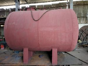 Horizontal Mild Steel Tank