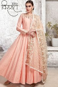 Designer Gown Salwar Suits