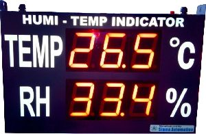 Jumbo Display Temperature Indicator