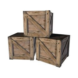 Wooden Box Crates
