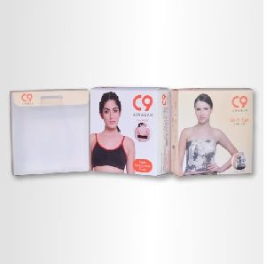 PP Printed Transparent Packaging Box For Undergarments Packing