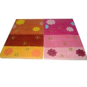 Floral Printed Floor Rugs