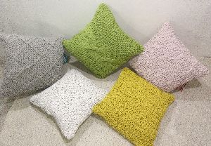 Striped Cushion Cover