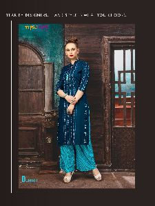 Ladies Kurtis With Palazzo