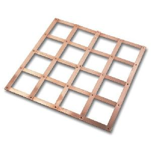 Copper Lattice Ground Earth Mat