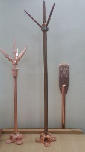 Copper Lighting Arrester Rod