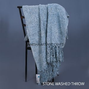 Hand Knitted Throw Blankets