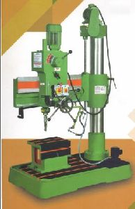 All Geared Precision Radial Drilling Machine