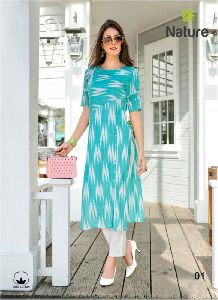 Stylish Cotton Kurtis