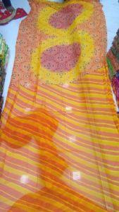 Leheriya Printed Sarees