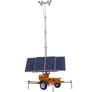 Mobile Solar Light Towers
