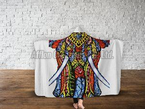 Mandala Hooded Blankets