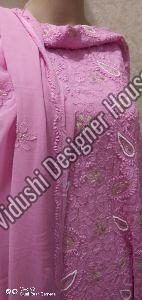 Unstitched Embroidered Suits