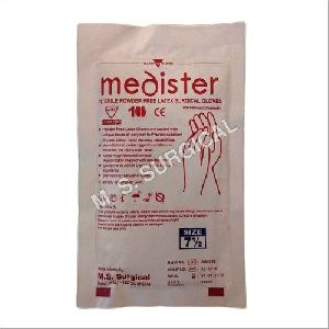 Sterile Powder Free Latex Surgical Gloves