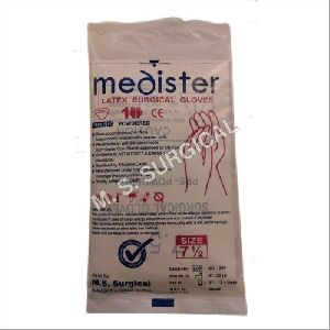 Sterile Powdered Latex Surgical Gloves