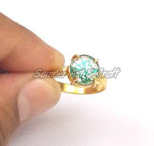 Prong Setting Gemstone Ring