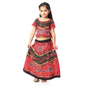 Girls Garba Dress