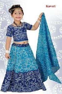 Kaveri Girls Cotton Chaniya Choli