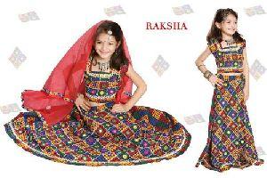 Raksha Girls Cotton Chaniya Choli