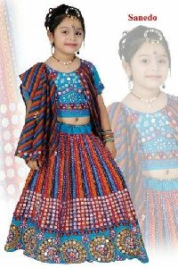 Sanedo Girls Cotton Chaniya Choli